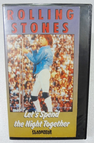 vhs - the rolling stones - let's spend the night together