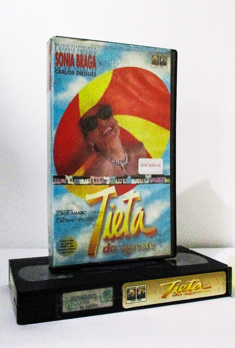 Vhs Tieta Do Agreste 1996 Cacá Diegues Original