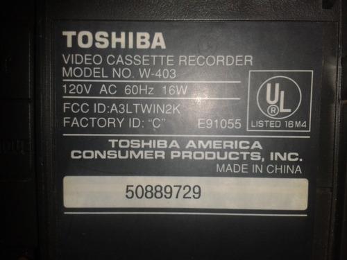 vhs toshiba w-403