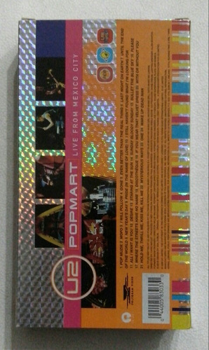 vhs u2 pop mart live from mexico city