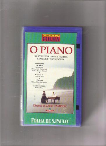 vhs videoteca folha vol 3 - o piano, holly hunter