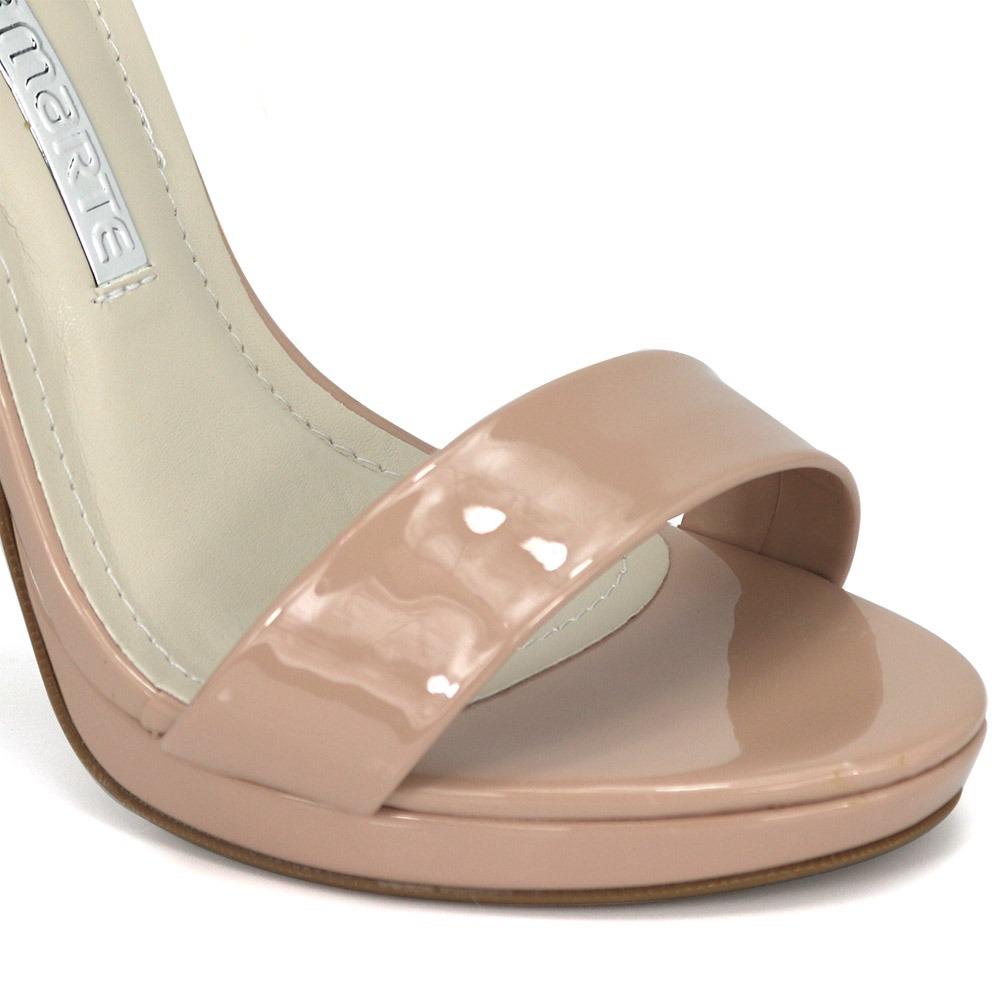 fec11fb2fa Carregando zoom... promoção sandália social feminina via marte 18-21108  amendoa