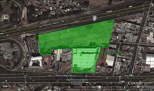 via morelos  vendo y/o rento propiedad comercial 19,300 m2