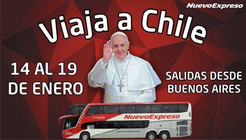 viaja a chile a conocer al papa francisco