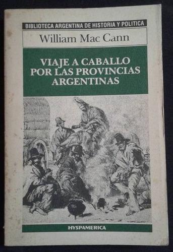 viaje a caballo por las provincias argentinas