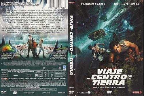 viaje al centro de la tierra brendan fraser julio verne dvd
