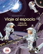 viaje al espacio. libro de pegatinas