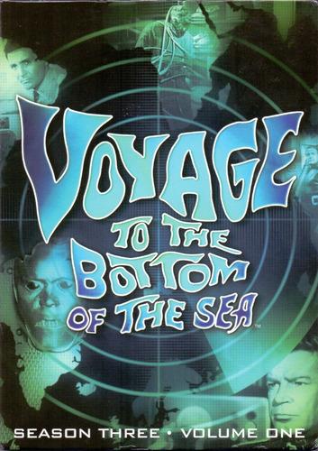 viaje al fondo del mar tercera temporada 3  volumen 1 dvd