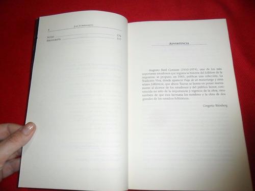 viaje de un maturrango - juan b. ambrosetti - ed taurus