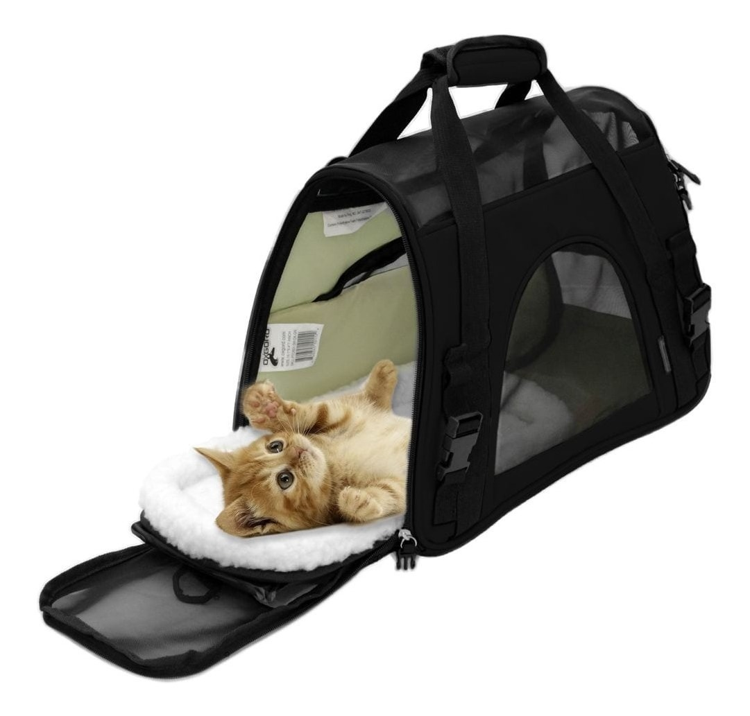Resultado de imagen para transportadora o correa para mascotas