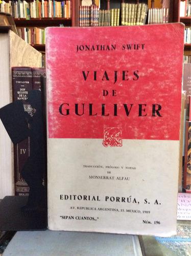 viajes de gulliver, jonathan swift