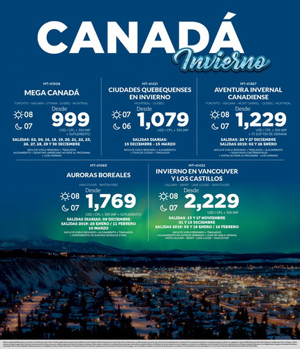 viajes increíbles. agencia de viajes. promociones de viajes