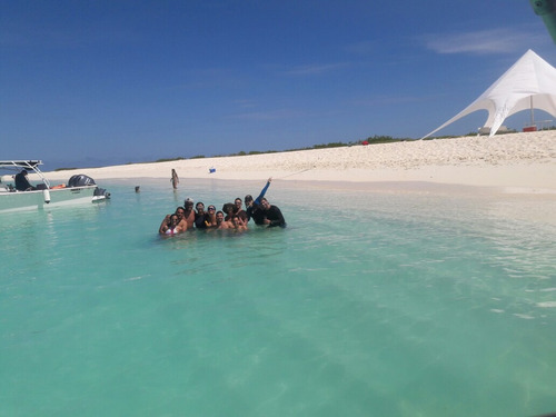 viajes isla la tortuga lancha deportiva full day higuerote