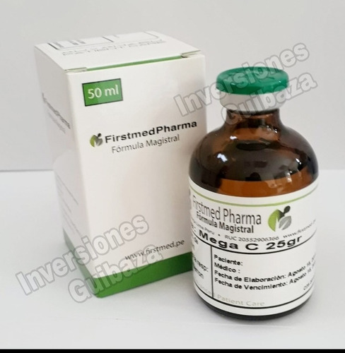 viamina c 25 gr/ firstmed original precio por mayor c/u