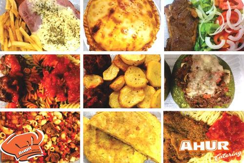 viandas de comida casera empresas obradores