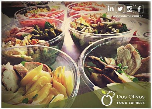 viandas light, clásicas, empresariales /consulta nutricional
