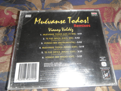 vianney valdez remixes cd ultraro angelica maria, mayte gaos