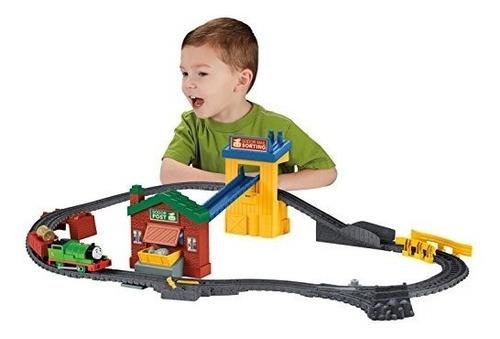 vías del tren,fisher-price thomas y sus amigos trackmast..