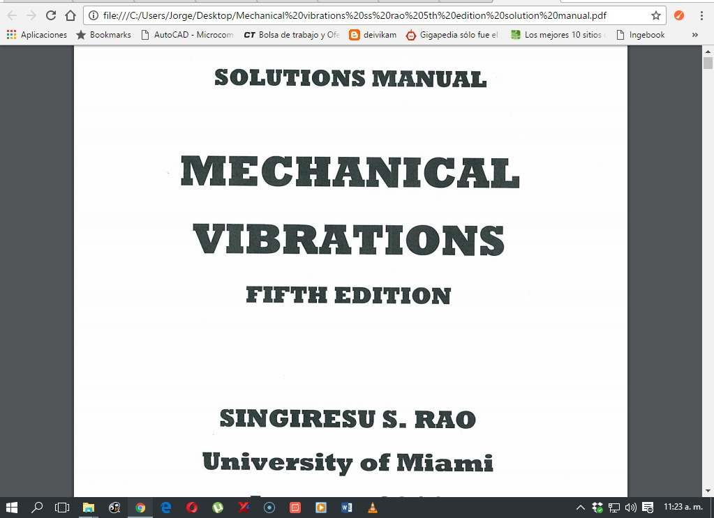 singiresu rao vibraciones mecanicas