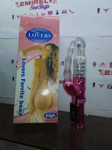 vibrador consolador dildo gspot dual juguete sexual estimula