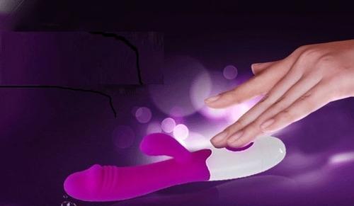 vibrador consolador punto g y clítoris juguete sexual