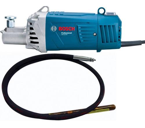vibrador de concreto 2200w + manguera bosch gvc 22 ex