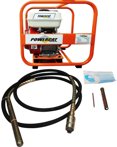 vibrador de concreto 6.5 hp power cat pwc-170f