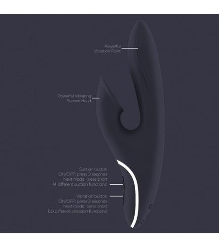 vibrador multiorgasmico recargable succion satisfyer hiky