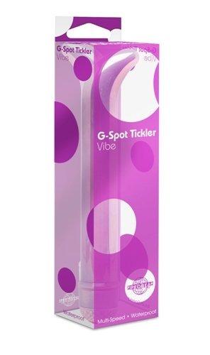 vibrador tickler punto pipedream products, inc. g, púrpura