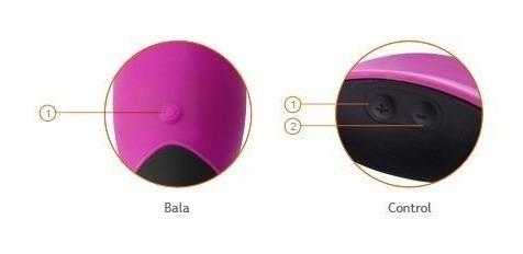 vibradores consolador bala vibradora control remoto sex shop