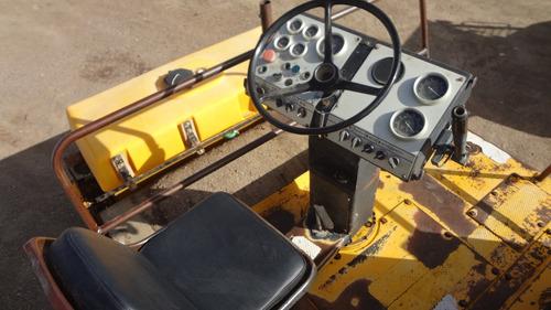 vibro compactador doble rodillo liso dynapac cc42 folio 8416