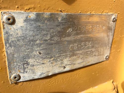 vibro compactador tandem cb-534b muy buen equipo