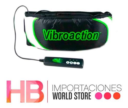 vibroaction cinturón vibrador tonifica adelgaza / hb importa