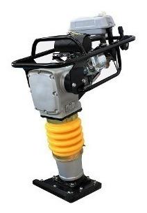 vibroapisonador motopison 4hp pison compactador