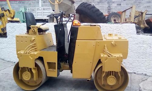 vibrocompactador bomag bw-120-ad de 4 ton. año 1990