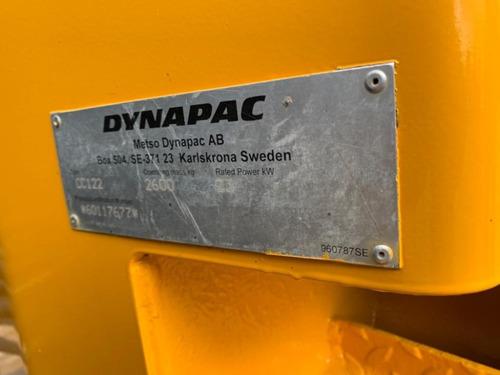 vibrocompactador  dynapac cc122