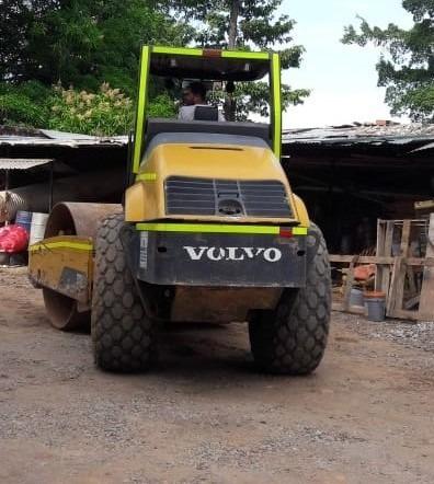 vibrocompactador volvo sd100 año 2011