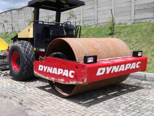 vibrocompactadores dynapac ca250d y ca150