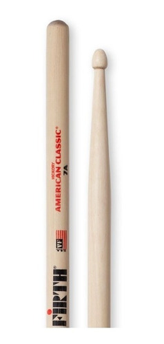 vic firth 7a punta madera american classic palillos baquetas