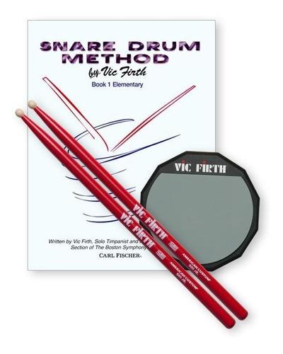 vic firth launch pad de practica kit