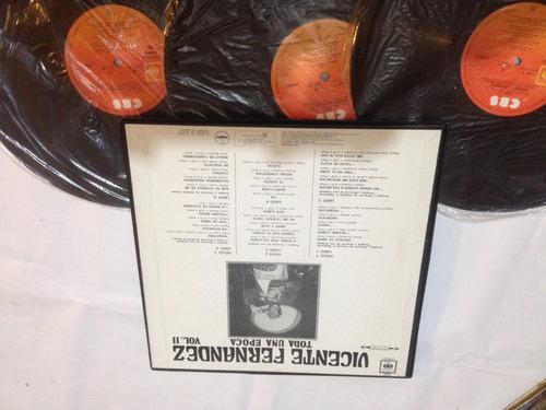 vicente fernandez  album 3 discos  edicion mexcana