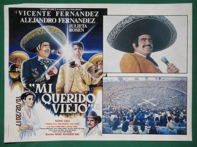 Vicente Fernandez Mi Querido Viejo Mariachi Cartel De Cine 7000