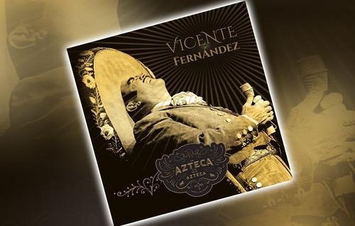 vicente fernandez un azteca en el azteca cd + dvd