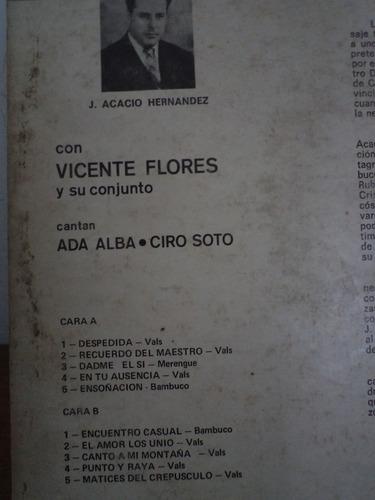 vicente flores conjunto -  lp