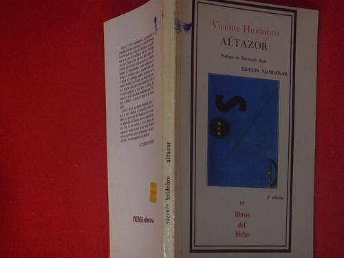 vicente huidobro, altazor, premia editora, méxico, 1982, 111