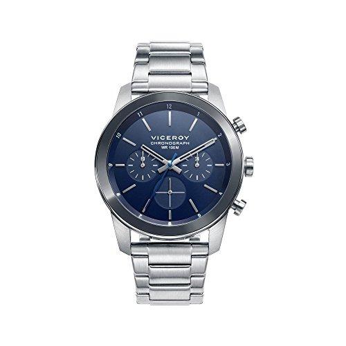 viceroy air 4672937 reloj para hombre blue chronograph