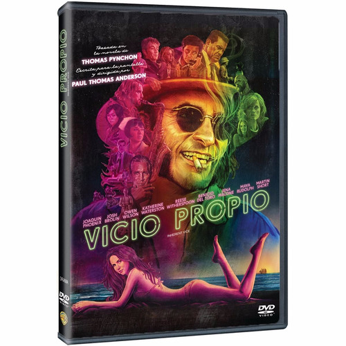 vicio propio inherent vice pelicula en dvd