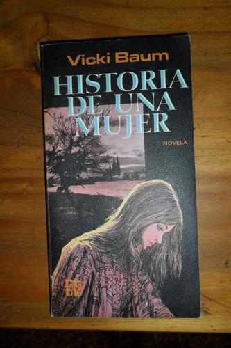 vicki baum  historia de una mujer usado