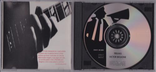 victor biglione - cd trilhas - seminovo