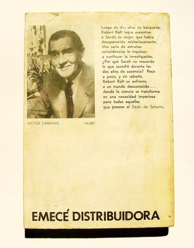 victor canning el dedo de saturno libro importado 1975